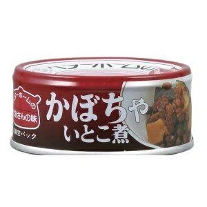 イージーオープン缶 かぼちゃいとこ煮 24缶入 (賞味期限3年) [2729]