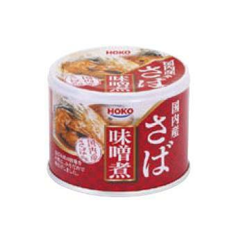 イージーオープン缶 さばみそ煮 24缶入 (賞味期限3年) [2062]