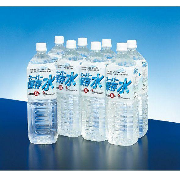 スーパー保存水 1.5L×8本  (賞味期限5年) [2005]