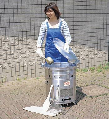 大型炊き出し器〈まかないくん30型〉基本セット [4260]