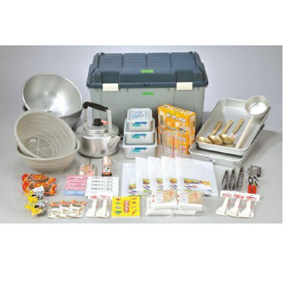 大型炊き出し器〈まかないくん85型オプション〉 調理用具セット [4264]