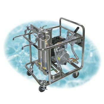 〈大型浄水器〉 災害用浄水器 交換用活性炭フィルタ(1本) [4397]