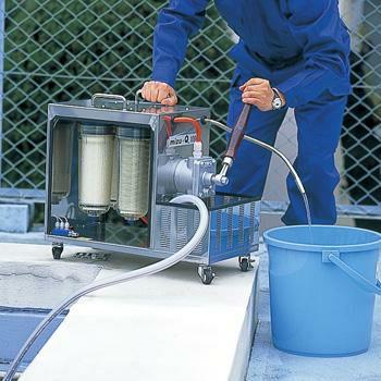 〈大型浄水器〉 災害用浄水器〈mizu-Q1000〉 手動ポンプ交換用フィルタセット [4389]