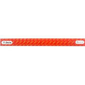セミスタティック・ロープ・カラー 11.0㎜×50mオレンジ [EW0056]