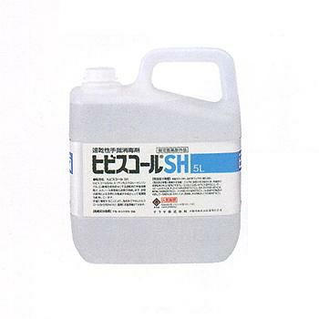 速乾性手指消毒剤 ヒビスコールSH 5L [42308]