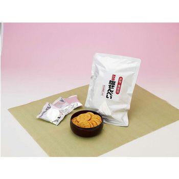 保存食 塩せんべい (賞味期限5年) 12袋/箱 [2140]