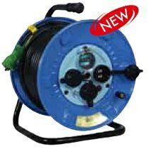 防雨型電工ドラム(屋外型)(NPW-EB33) [6567]