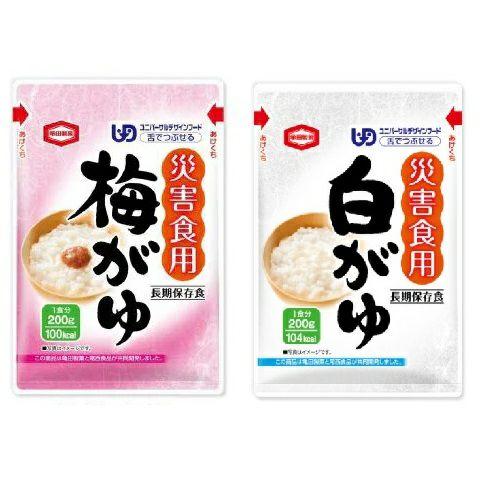 災害食用梅がゆ (賞味期限5年) 40袋 [2495]